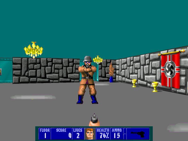 Wolfenstein 3D (free version) download for PC