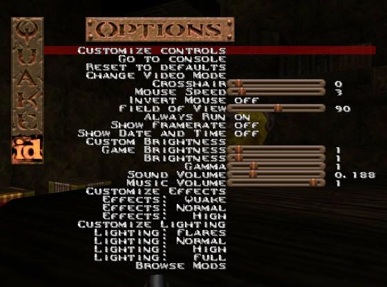 Quake > LordHavoc's DarkPlaces Quake Modification - FPS Ports